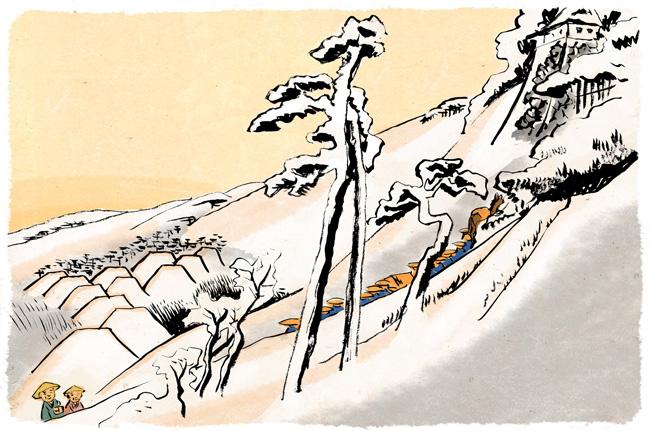 四十六宿場目「亀山」