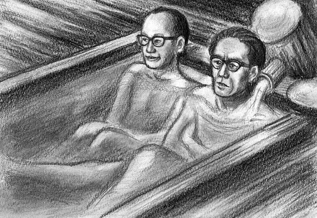 石井鶴三の肖像