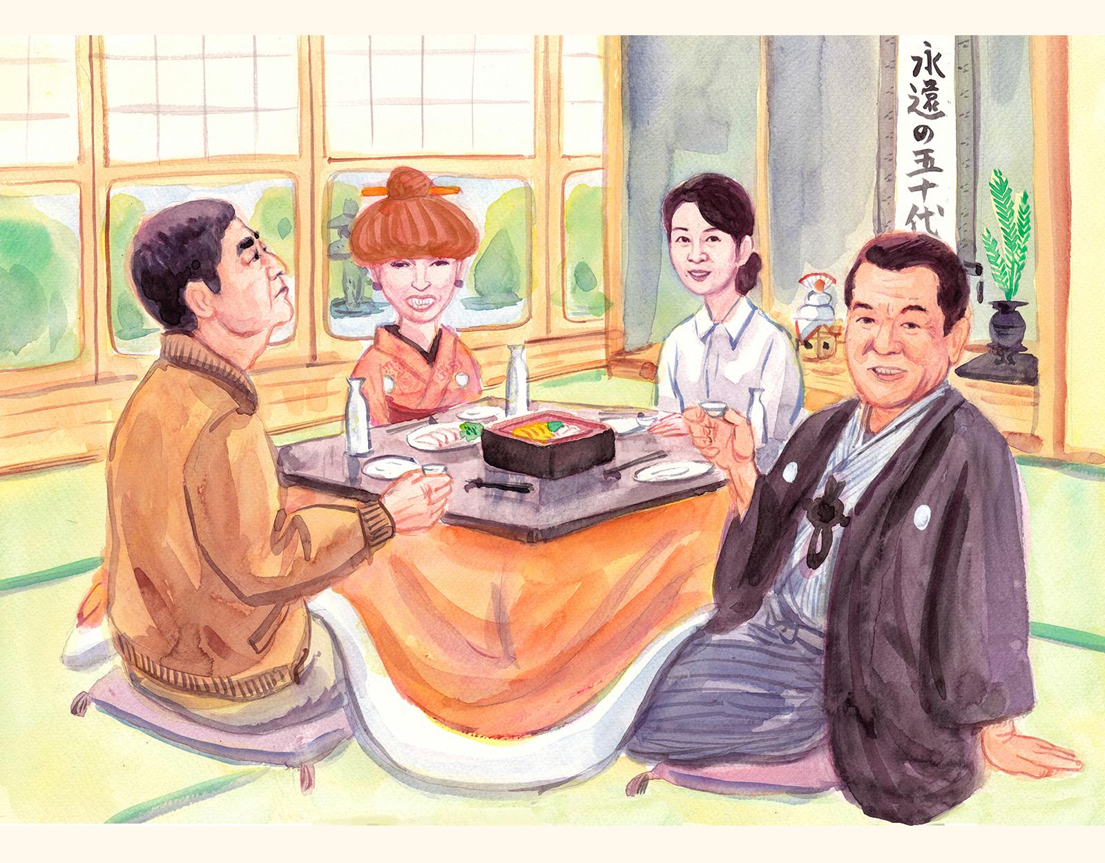 高倉健吉永小百合黒柳徹子加山雄三