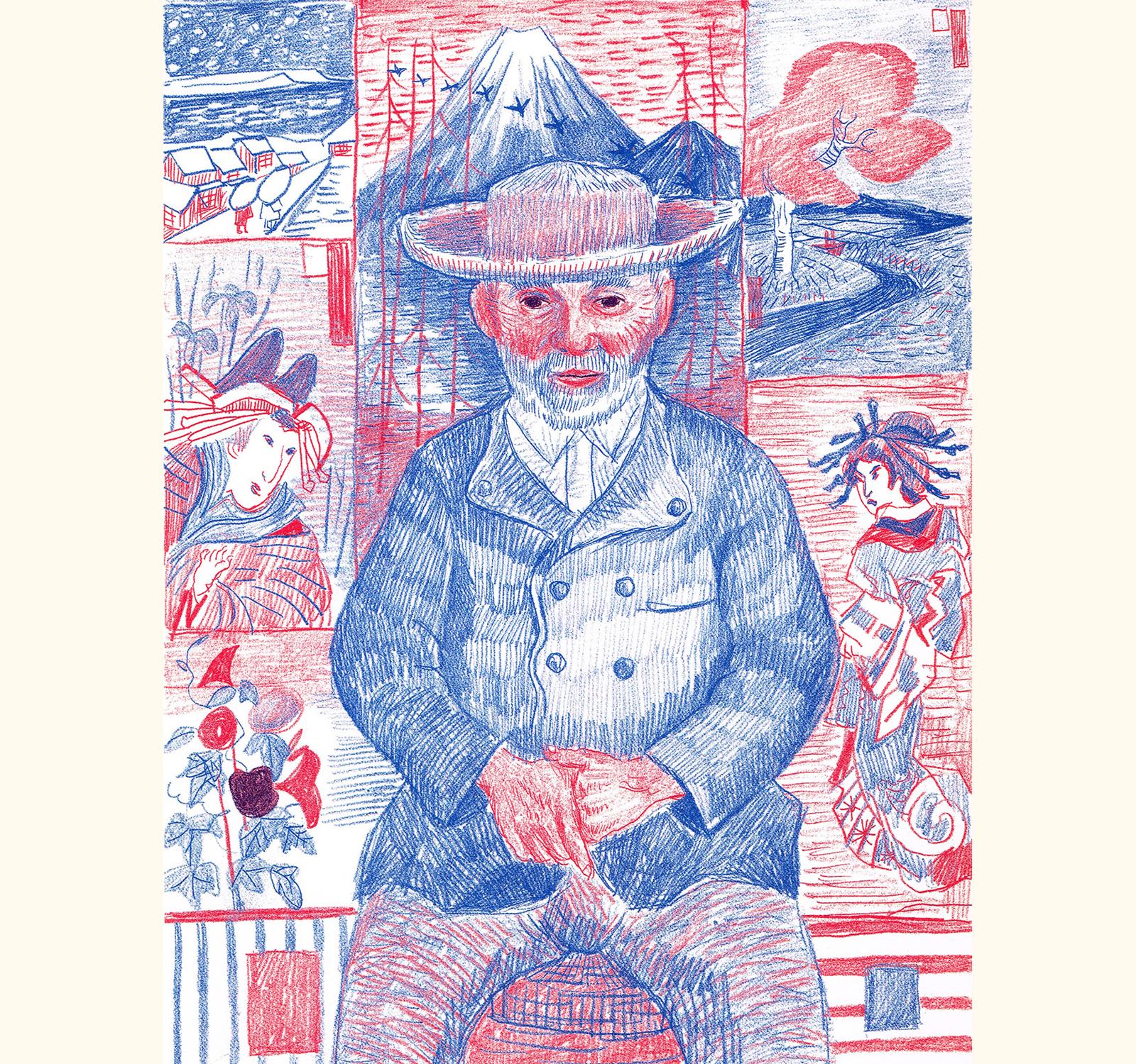 タンギー爺さんの肖像