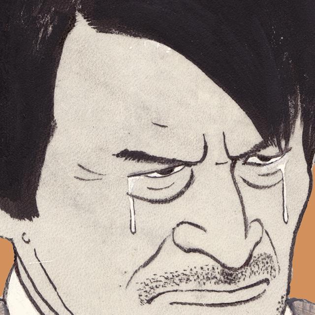 ドラマ「早春スケッチブック」の山崎努