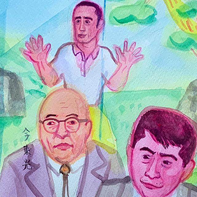 三島由紀夫と文士たち